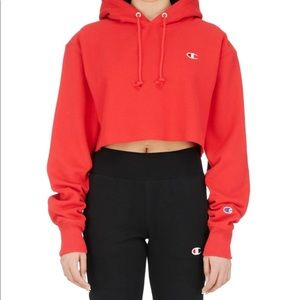 Red Champin Hoodie